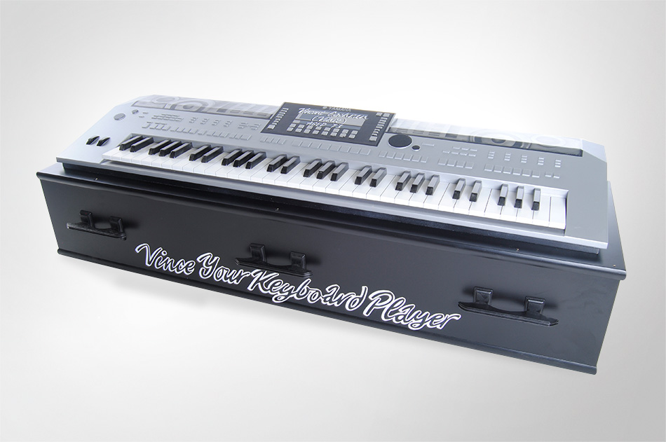 yamaha keyboard coffin