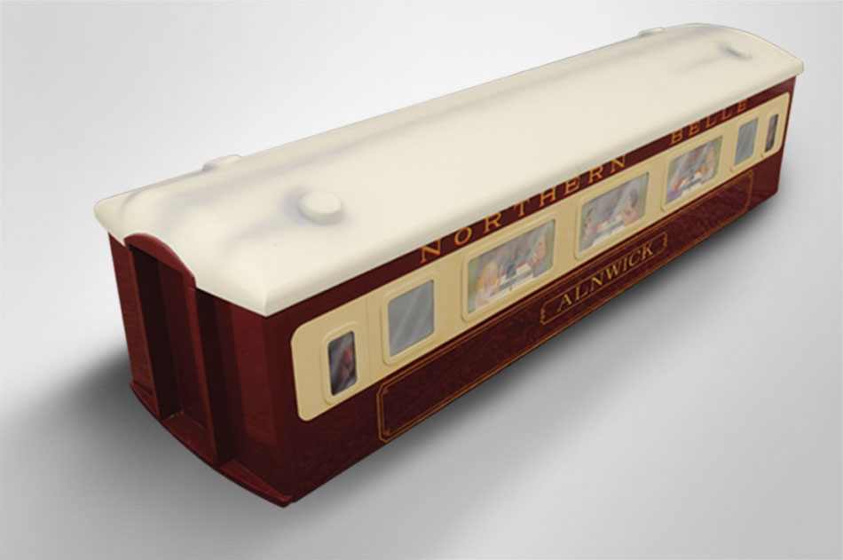 Orient Express coffin