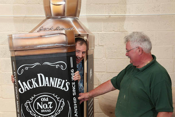 Daily Star Jack Daniels coffin